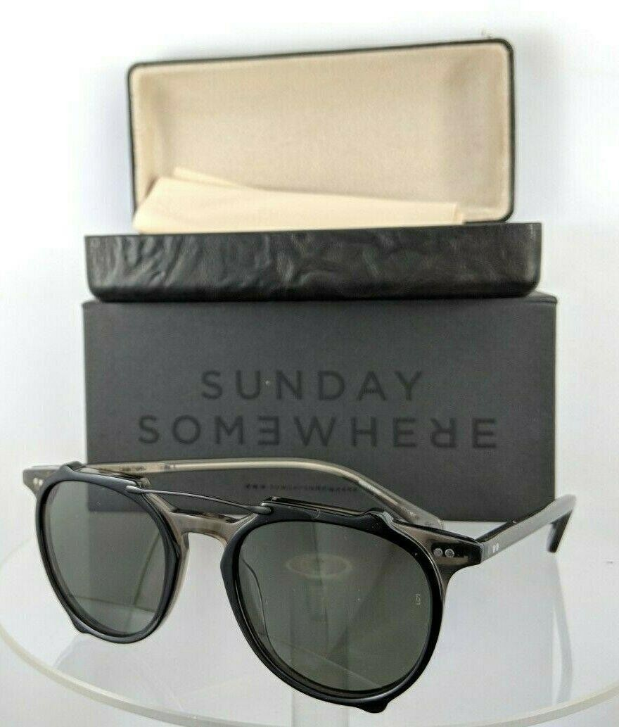 Sunday Somewhere Odin Twg Black Sunglasses