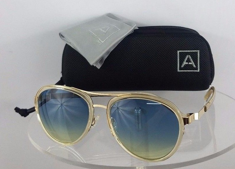 Barton Perreira Allied A060 Metal Works Clear Sunglasses