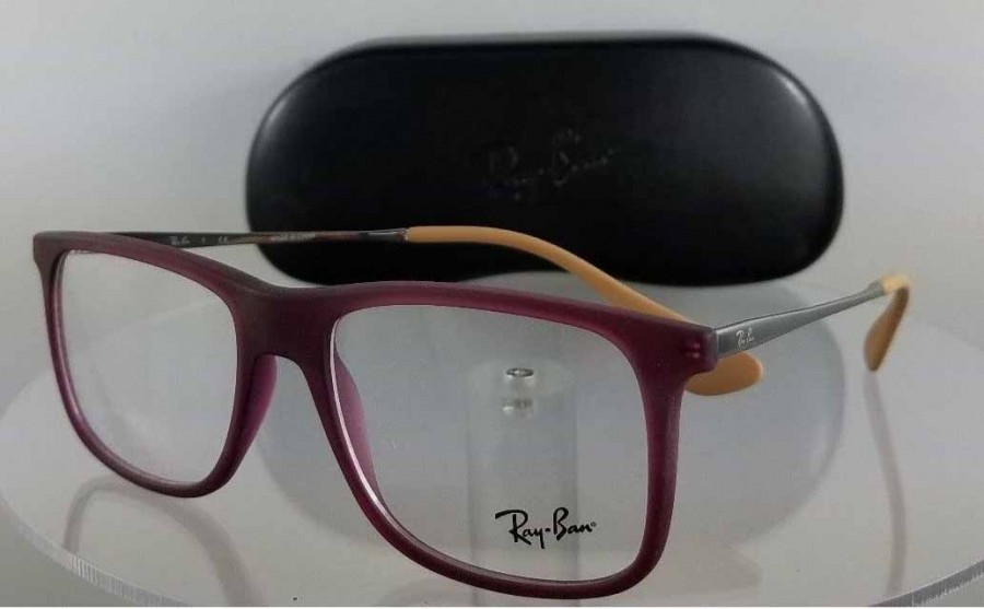 Ray Ban RB 7054 5526 Purple Eyeglasses