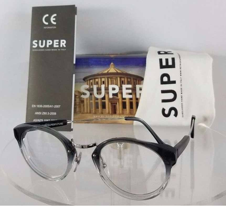 Retrosuperfuture 821 0A Black Eyeglasses