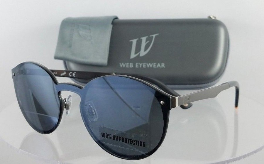Web WE 0203 09C Silver Sunglasses