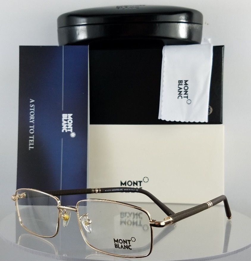 MONT Blanc MB 396 028 Brown Eyeglasses