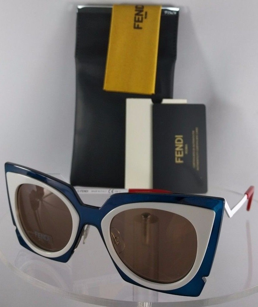 Fendi FF 0117/S IBZ3J Blue Sunglasses