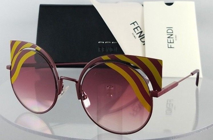 Fendi FF 0215/S 0L9X4 Red Sunglasses