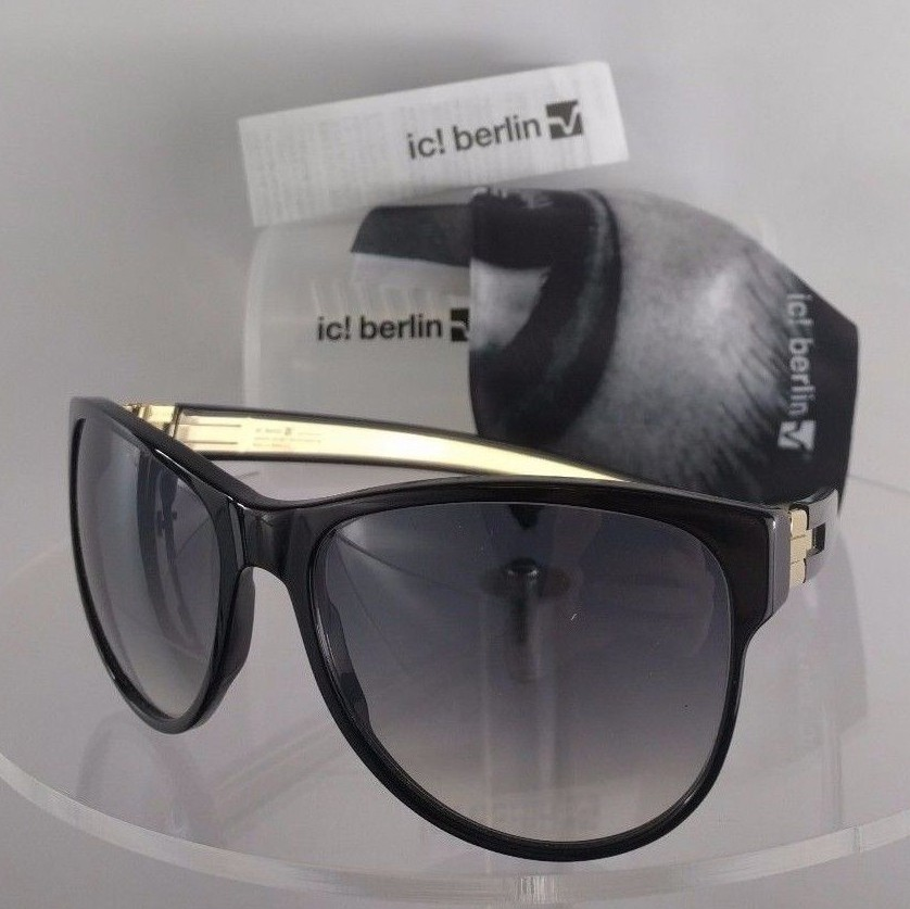 ic! Berlin Janina f. Black Sunglasses
