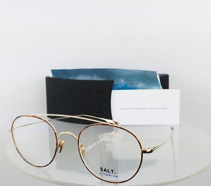 SALT BRIDGES HG Gold Tortoise Eyeglasses