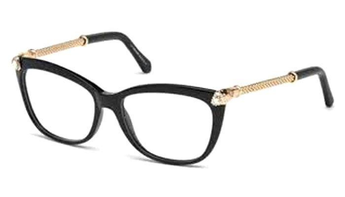 Roberto Cavalli REGULUS RC 944 055 Black & Gold Eyeglasses