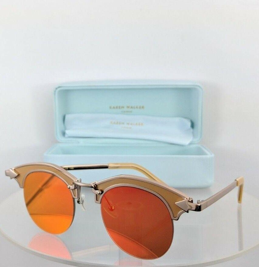 Karen Walker Buccaneer Gold Red Sunglasses