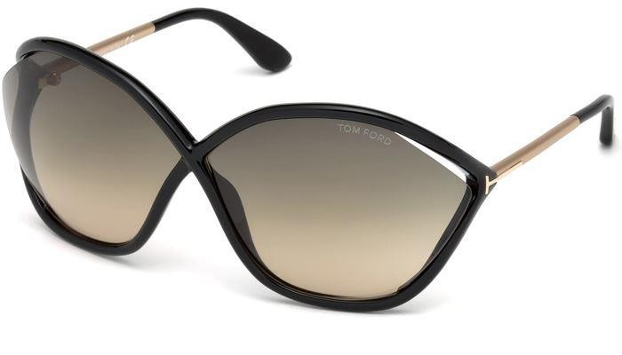 Tom Ford FT 0529 01B Black & Gold Sunglasses