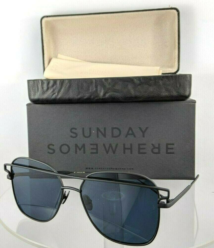 Sunday Somewhere Jesse 152 Matte Black Sunglasses