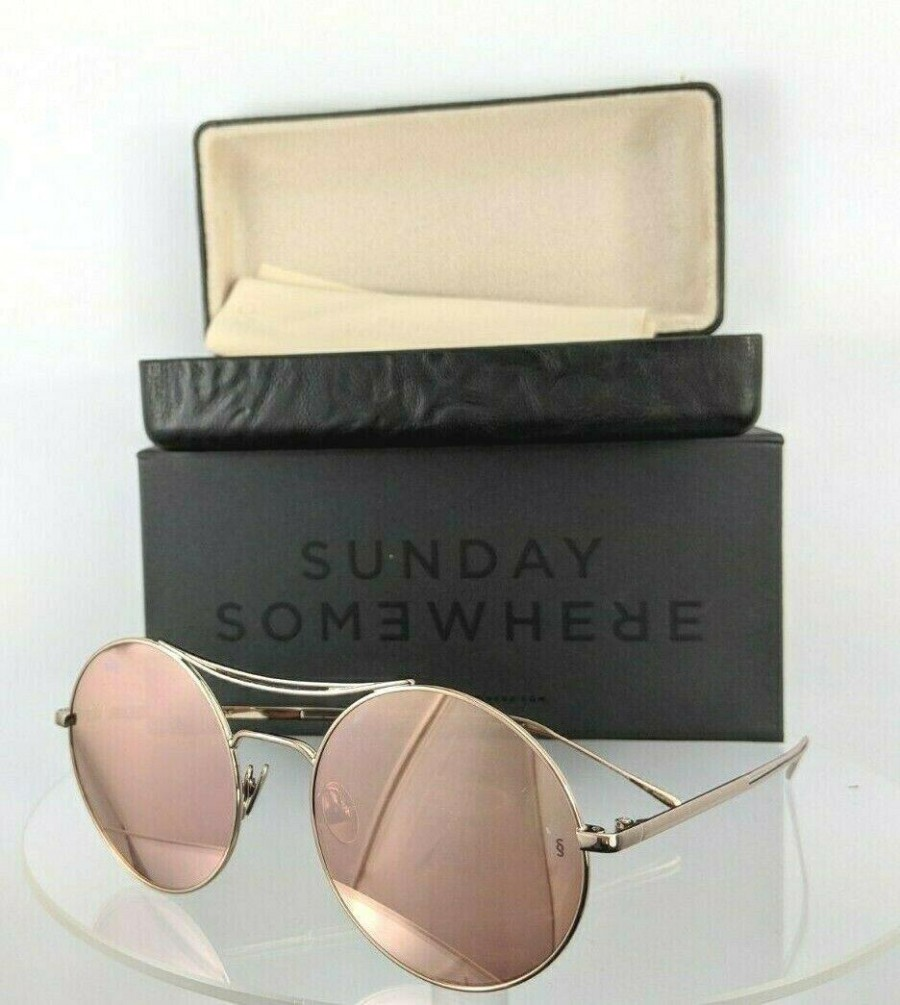 Sunday Somewhere Goldie 15-Ros Rose Gold Sunglasses