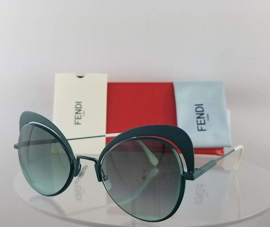 Fendi FF 0247/S 1EDEQ Green Sunglasses