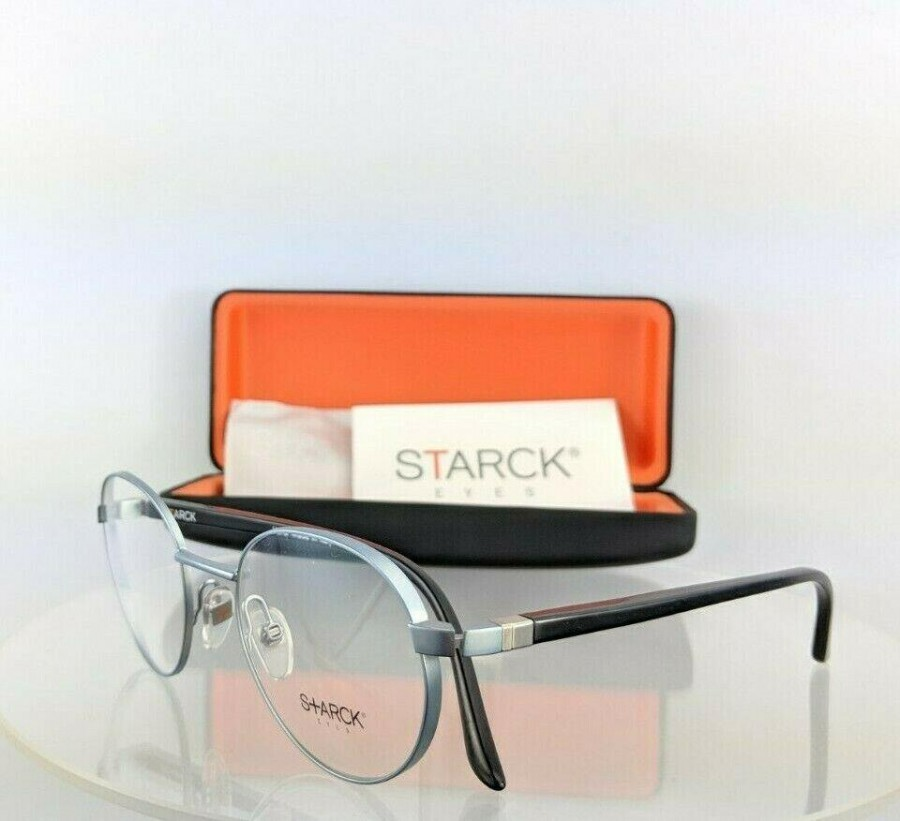 Starck Eyes Sh 2019 0004 Black Light Blue Eyeglasses