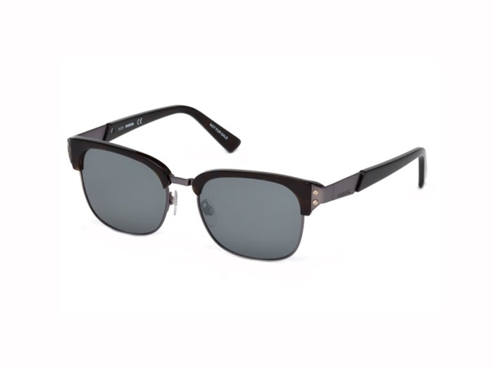 Diesel DL 0235 52C Grey Sunglasses