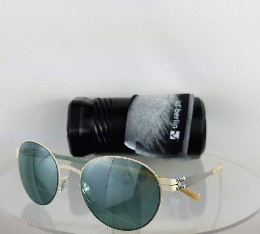 IC! Berlin Claude Off White Pearl Sunglasses