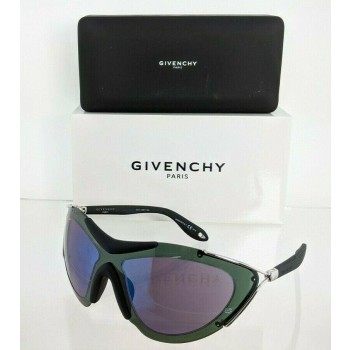 Givenchy GV 7013/S RADX Green & Black & Silver Sunglasses