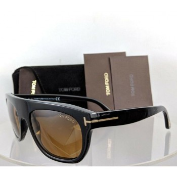 Tom Ford FT 0594 01E Federico-02 Black Sunglasses