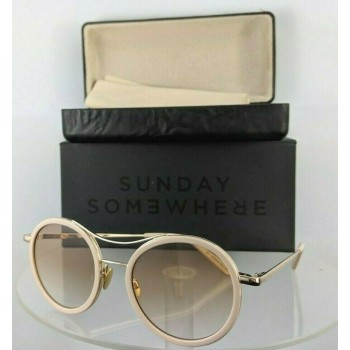 Sunday Somewhere Roso 146-Blu Pink Gold Sunglasses