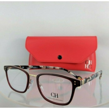 Carolina Herrera VHE728 06DC Brown Eyeglasses
