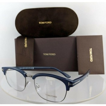 Tom Ford FT 5458 090 Blue Eyeglasses