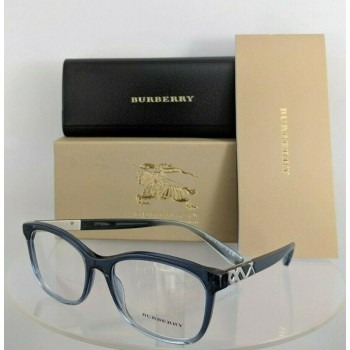 Burberry BE 2242 2599 Blue Clear Eyeglasses