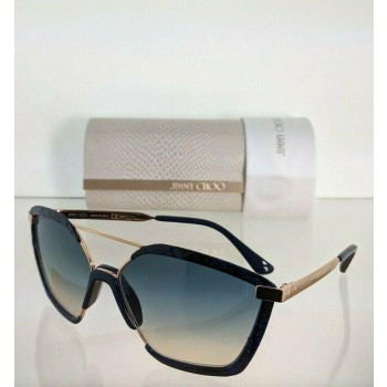 Jimmy Choo Leon/S PJPI4 Blue & Rose Gold Sunglasses
