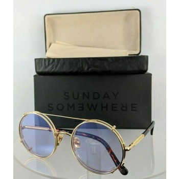 Sunday Somewhere Valentine 038-Tpu Gold Tortoise Sunglasses