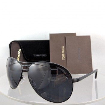 Tom Ford FT 0035 Black Sunglasses