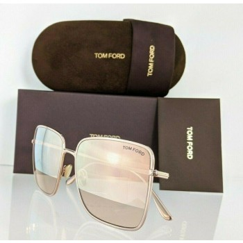 Tom Ford Heather FT 0739 28Z Rose Gold Sunglasses