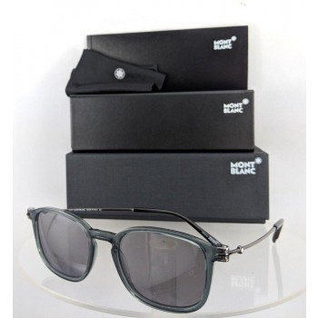 Mont Blanc Mb 698/S 20C Grey Gunmetal Sunglasses