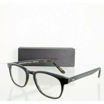 Masunaga 049-023 Dark Tortoise Brown Eyeglasses