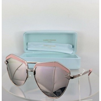 Karen Walker Jacinto Rose Pink Sunglasses