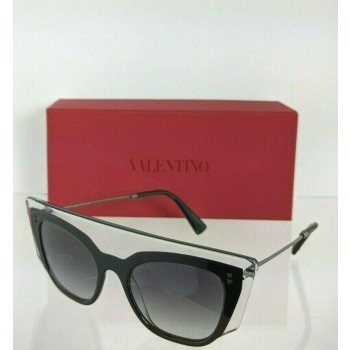 Valentino VA4035 5086/8G Black & Clear Sunglasses