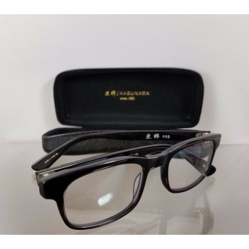 MASUNAGA 029 Black Eyeglasses