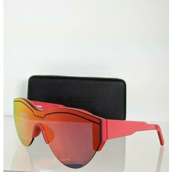 Balenciaga BB0004SA 003 Red Sunglasses