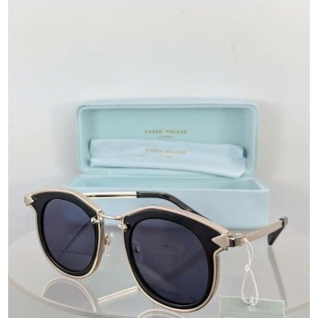 Karen Walker Bounty Black Gold Sunglasses