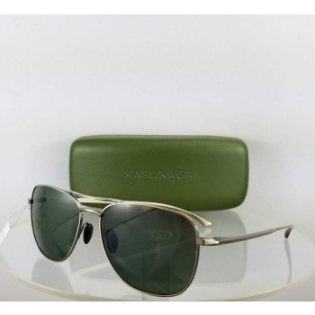 MASUNAGA 9000 #11 Gold Sunglasses