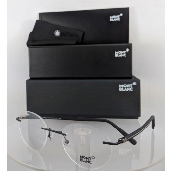 Mont Blanc MB732 002 Black Eyeglasses