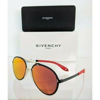 Givenchy GV 7039/S PDEU Black & Red Sunglasses