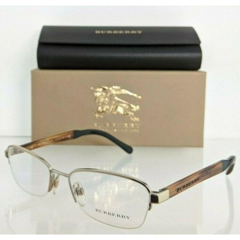 Burberry B 1222 1145 Gold & Brown Eyeglasses
