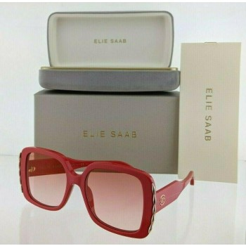 Elie Saab ES 015/S C9A30 Red & Gold Sunglasses