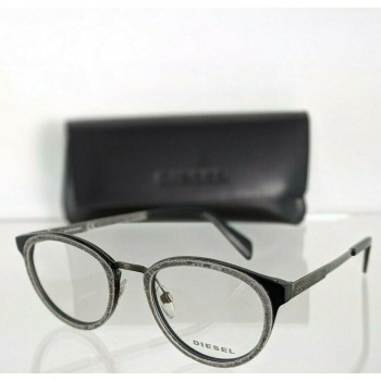Diesel DL 5154 005 Denim & Black Eyeglasses