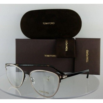 Tom Ford FT 5420 049 Brown/Gold Eyeglasses