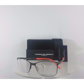 Porsche Design P 8262 D Matte Brown Orange Eyeglasses