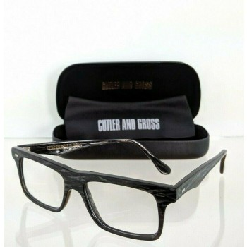 Cutler And Gross Of London 1096 BGR Grey Charcoal Eyeglasses