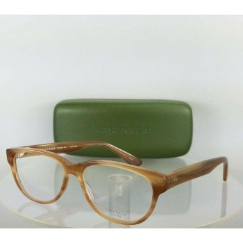 Masunaga 022 Beige/Brown Eyeglasses