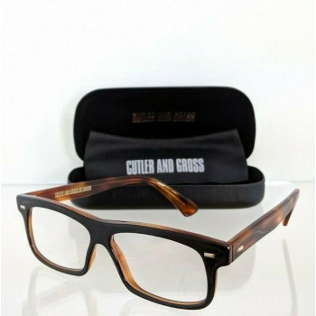 Cutler And Gross Of London 1098 BDT Brown Tortoise Eyeglasses