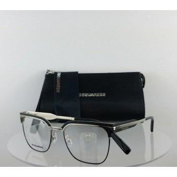 Dsquared 2 Dq 5240 016 Black Silver Eyeglasses