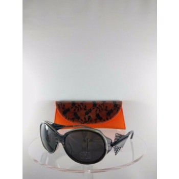 Brand New Authentic BOZ Sunglasses New Age 0505 57mm Gray Black Frame