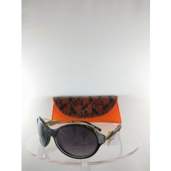 Brand New Authentic BOZ Sunglasses New Day 0095 60mm Brown Black Frame
